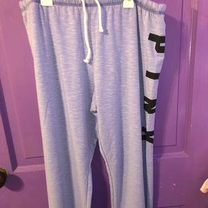 PINK Purple Sweatpants